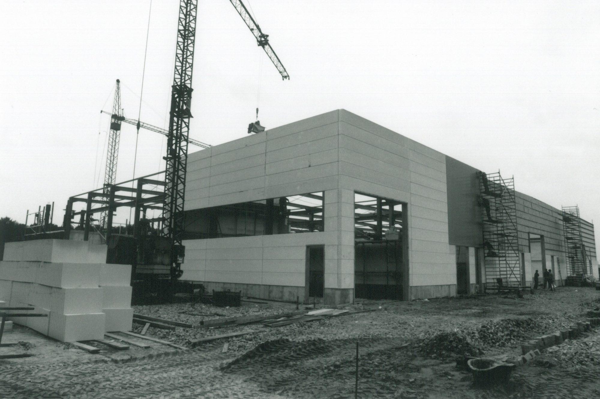 Neubau GIP-Halle