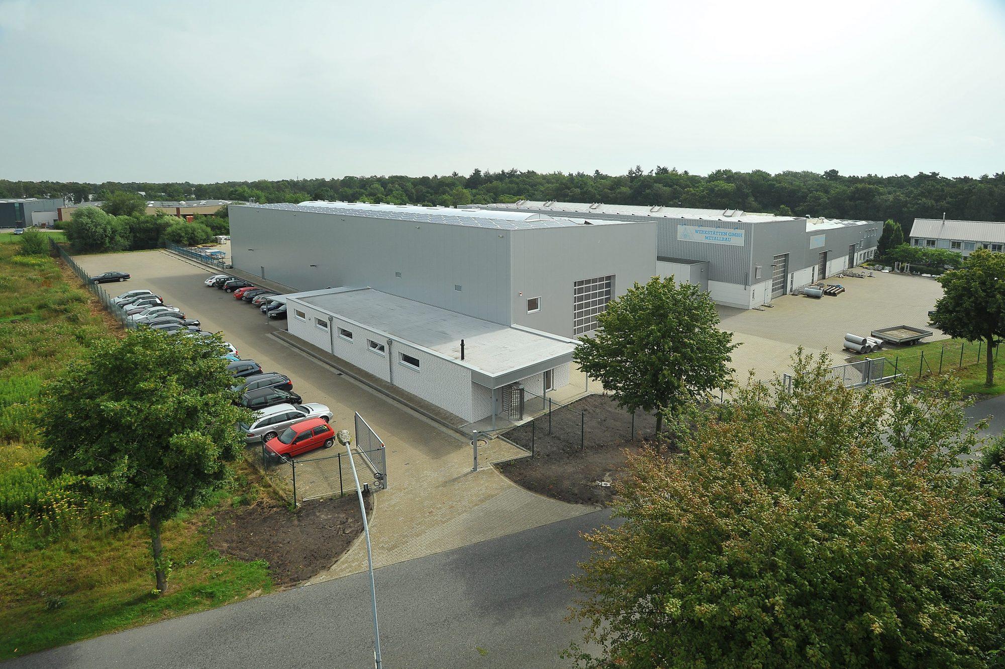 Werkstätten GmbH neue Halle